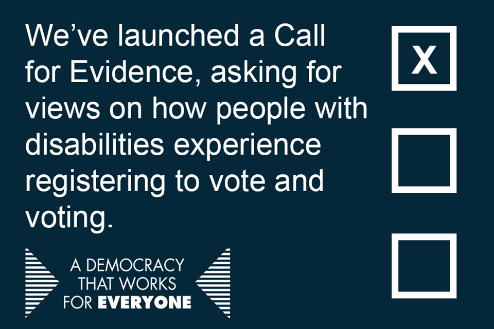 Helping people exercise their right to vote | Mark Harper MP